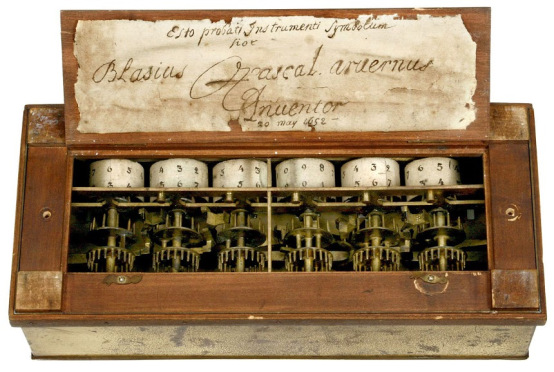 Who invented the mechanical calculator – pascaline by blaise.